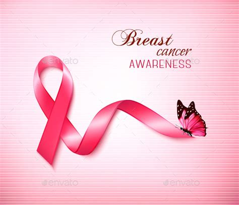 Free Pink Ribbon Powerpoint Template