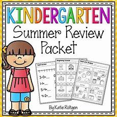 Kindergarten Summer Review Packet By Katie Roltgen Tpt