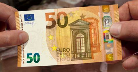 New €50 Note Comes Into Circulation  Here's All You Need