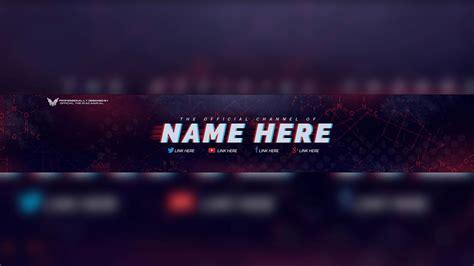 youtube banner banner maker 2560x1440 best template idea