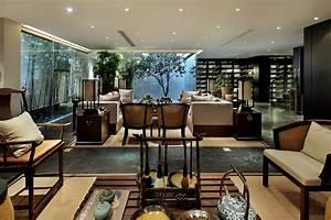 modern chinese living Interior Design Ideas