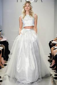 the top wedding dress trends for spring 2015 weddingbells With wedding dresses 2015 trends