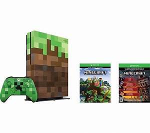 Buy MICROSOFT Xbox One S Minecraft Limited Edition | Free ...