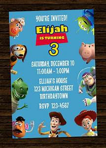 free printable toy story birthday invitations drevio With toy story invites templates free
