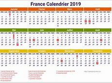 Calendrier 2019 France A Imprimer newspicturesxyz