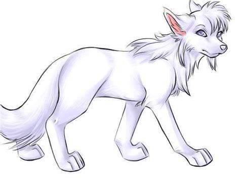 awesome white anime wolf amazing wolves photo