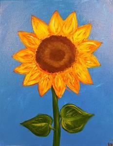 Angela Anderson Art Blog  Sunflower Paintings