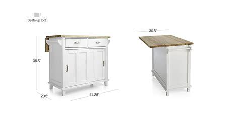 belmont kitchen island white belmont white kitchen island crate and barrel 4414