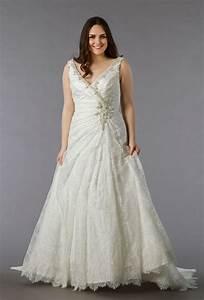 Dina davos for kleinfeld style 7858w plus size wedding for Kleinfeld plus size wedding dresses