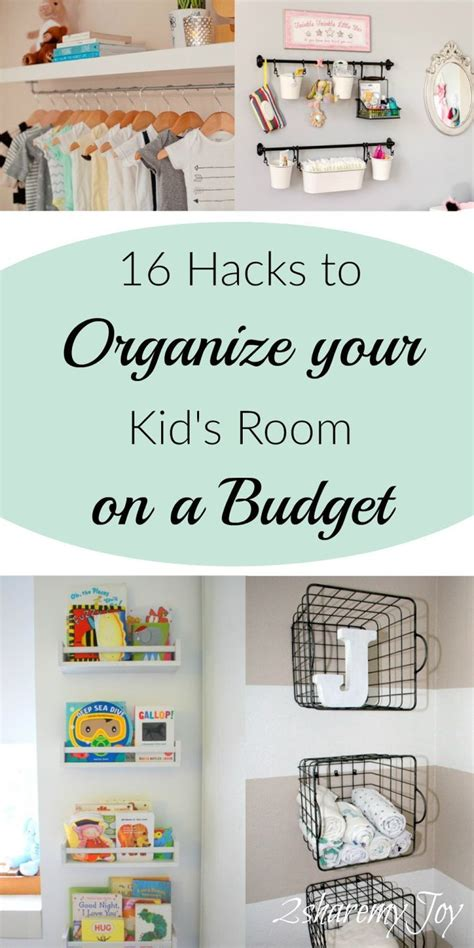 How To Organize A Bedroom On A Budget by 16 Simple Nursery Kid S Room Organizing Diy Hacks Baby
