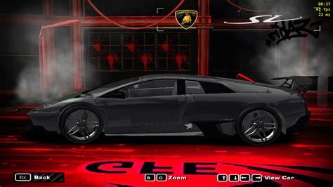speed  wanted lamborghini murcielago sv nfscars