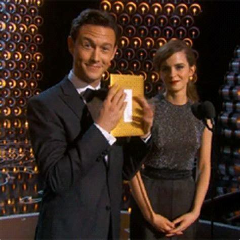 Emma Watson Joseph Gordon Levitt Jgl Oscars Academy