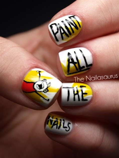 Meme Nail Art - meme nail art