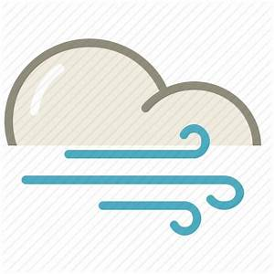 Cloud, clouds, cloudy, forecast, weather, wind, windy icon ...