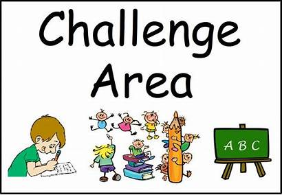 Challenge Math Signs Clipart Center Library Area