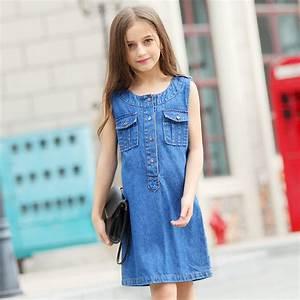 Aliexpress.com : Buy 2016 Teen Girls Clothing Cotton Frock ...