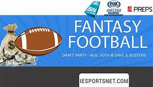 IE Sports Net | Upcoming Events Fantasy Football: Draft ...