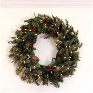 northlight 30 inch pre lit frosted edina fir artificial christmas wreath clear lights walmart com