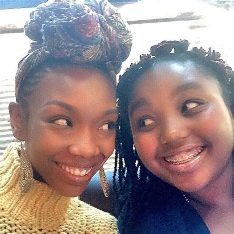 brandy norwood flashes  pearly whites  cute selfie