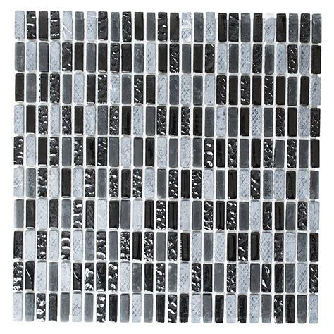 Glanzend Bad Mosaikfliesen Ideen Mosaik Fliesen Schwarz Glanzend
