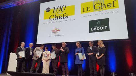 meilleur cuisine du monde classement les classement des 100 chefs 2017 par le magazine le chef