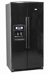 Refrigerateur Congelateur Americain : refrigerateur americain whirlpool s20 drbb noir s20drbb ~ Premium-room.com Idées de Décoration