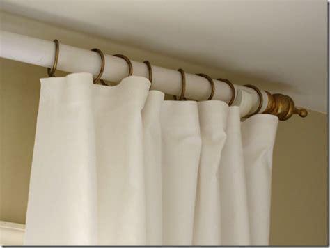 stylish diy curtain rods ideas  budget