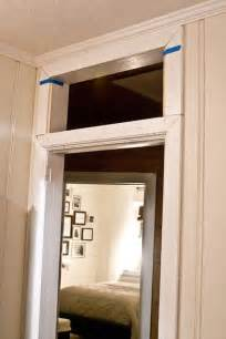 add  transom   existing door frame