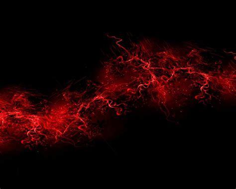 black background red color paint explosion burst