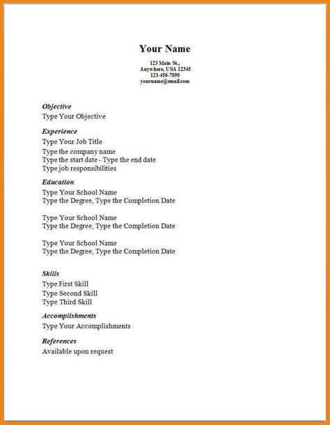 easy simple resume template dragon fire defense
