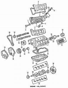 Oldsmobile Aurora Engine Crankshaft Seal  Rear   All