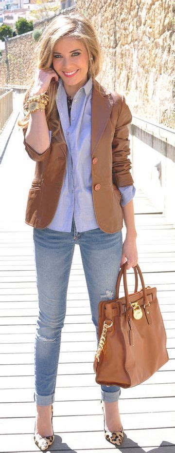 Top 15 Brown Combinations For This Fall - Top Fashion Corner | u2665 it | Pinterest | Fall Leather ...