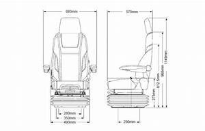 Kab 65k4 Machinery Seat