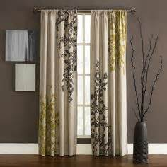 overstock add visual interest to your windows with these leaf printed blackout curtains