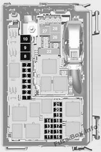 Fuse Box Diagram  U0026gt  Opel  Vauxhall Meriva B  2011