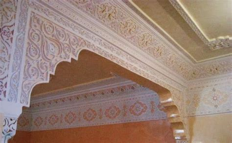 decoration du plafond en platre marocain d 233 coration plafond platre salon marocain gascity for