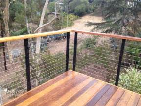 Porch Rail Ideas by Diy Cable Railing Contemporary Deck San Diego By