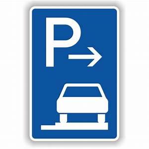 Unkrautvernichtung Auf Gehwegen : verkehrsschild parken ganz auf gehwegen fahrtrichtung rechts ~ Watch28wear.com Haus und Dekorationen