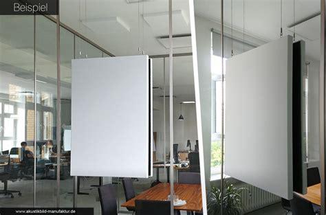 Akustikbilder Für Zuhause by Akustikbild Vor Glaswand Besprechungsraum Buero