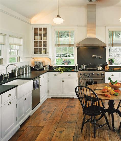 white kitchens  vintage homes  house journal magazine