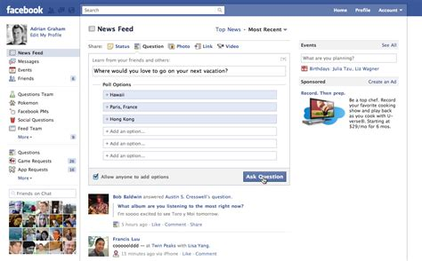 Questions For Facebook Status With Answers