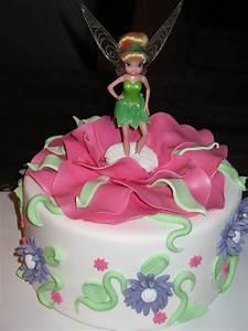 Sandy's Cakes: Tinkerbell Cake  Cake