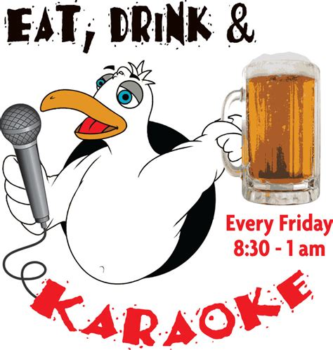 Boat Drinks Karaoke by Eat Drink Karaoke Tonight Boothbay Register