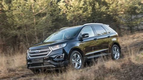 ford edge front photo  car release news