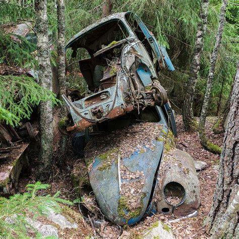 Bastnas Car Graveyard Sweden's Vast Vehicle Cemetery Of