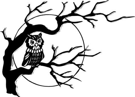 owl  tree branch clip art  clkercom vector clip art