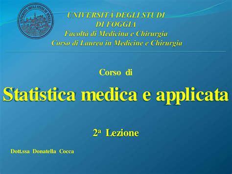 statistica medica dispense statistica medica medie e variabili dispensa dispense