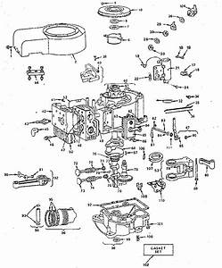Vintage Briggs Engine Diagrams