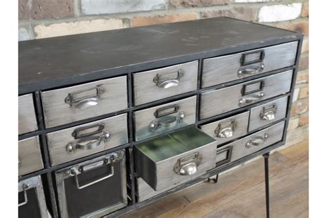 Metal Sideboard Cabinet by Industrial Metal Hairpin Leg Cabinet Sideboard Grey Silver