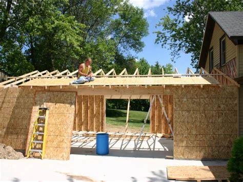 2 floor plans with garage attached garage build